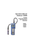 EC300 Portable Conductivity, Salinity and Temperature Instrument Operations Manual