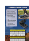 Werk Brau - Pavement Removal Bucket - Brochure