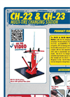 Tire Changing Station w/ Floor Plate  CH-22 & CH-23 Series - Brochure