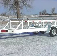 Model LRE - Multireel Cable Trailer - Economy