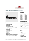Tandem Axle Utility Trailers (7,000 lbs. GVWR) Datasheet