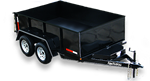 Appalachian - Model GVWR 7,000 lb. - Light Duty Dump Trailer