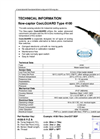 Captor CoolGuard - Model 4100 - Low Cost Flow & Temperature Switch - Datasheet