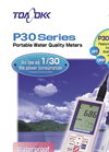 Model P30 Series - Hand Held Portable Water Quality Meters - Brochure