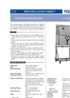 Model SCA-200, SCA-400 - Sulfur Analyzer Brochure