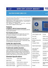 Model GFS-312E SO2 - Sulphur Dioxide Analyser Brochure