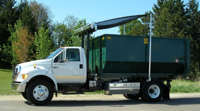 Roll-Off Tarp Systems Secure Your Waste - Headache-Free