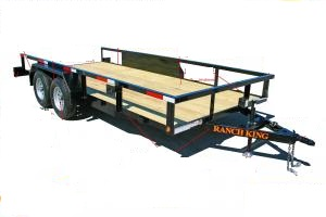Ranch King - Model TC 70 Series GVWR 7000 - Tandem Axle Utility Trailers