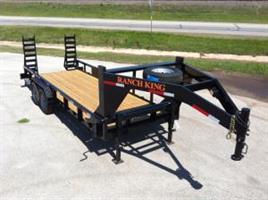 Ranch King - Model GTC Series GVWR 14000-16000 - Gooseneck Trailer