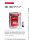 Stopper II - Model STI-1130 - Pull Station Protectors with Horn and Clear Spacer Fire Label Brochure