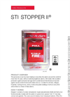 Stopper II - Model STI-1100-ES - Pull Station Protectors with with Horn Flush Mount Spanish Label Brochure