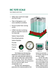 IBC Tote Scale - For Chemical IBC Totes Brochure