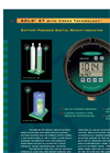 SOLO XT with Cross Technology - Battery Powered Digital Weight Indicator Brochure