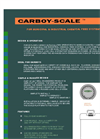 Carboy-Scale - For Municipal & Industrial Chemical Feed Systems Brochure