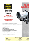 Model DG400 - Direct Fired Heater - Brochure