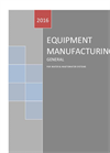 Equipment Manufacturing General - For Water & Wastewater Systems - Brochure