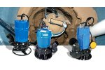 Kennelly - Model HS2.4S - Submersible Trash Pump