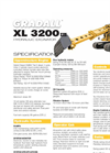 Gradall - Model XL 3200 V - Hydraulic Excavators Brochure