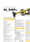 Gradall - Model XL 3100 IV - Hydraulic Excavator Brochure