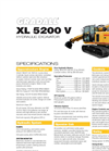 Gradall - Model XL 5200 V - Hydraulic Excavators Brochure