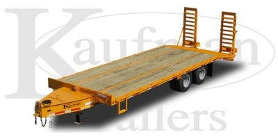 DJ Trailers - Model 25,900 GVWR / 25 ft. - Heavy Duty Flatbed Trailer - DELUXE