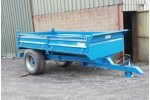 Single-Axle Tipping Trailer