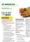 7018-SC - Jetter Technical Specifications