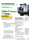 Model 7000-T Series - Truck Jetter Technical Specifications