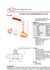 100C - Brass Ball Valve Brochure