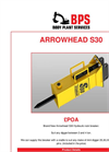Arrowhead - Model S30 - Hydraulic Rock Breaker Brochure