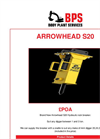 Arrowhead - S20 - Hydraulic Rock Breaker Brochure