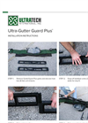 UltraTech - Model Plus - Gutter Guard - Installation Instructions Manual
