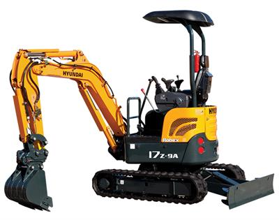 Hyundai Construction - Model R17Z-9A - Compact Excavators