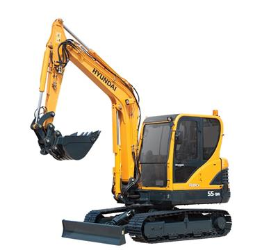 Hyundai Construction - Model R55-9A - Compact Excavators