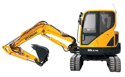 Hyundai Construction - Model R60CR-9A - Compact Excavators