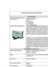 InsiteIG - Model 1500 - Single Channel Suspended Solids Analyzer Specifications