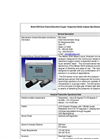 InsiteIG - Model 2000 - Dual Channel Process Analyzer - Technical Specifications