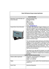 InsiteIG - Model 1000 - Dissolved Oxygen Analyzer - Technical Specifications