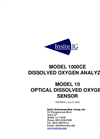 Model 1000CE - Dissolved Oxygen Analyzer - Manual