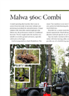 Malwa - Model 560C Combi - Stand Operative High Performance Harvester and Forwarder Brochure