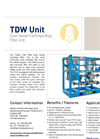 Model TDW - Dual Vessel Cartridge Unit Brochure