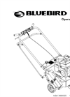 BlueBird - Model 424 - Lawn Aerator Manual