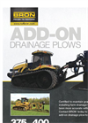 Bron - Model 375 - Add-On Drainage Plow Brochure