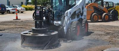Coneqtec - Model HS-57 - Heavy-Duty Skid Steer Attachment