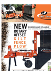 Rotary Offset Silt Fence Plow Brochure