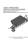 Model HX - V-Box Spreader Brochure