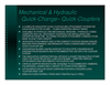 Quick-Change Quick-Couplers (Dedicated System) Brochure