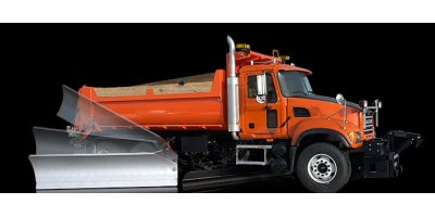 Falls - Model SDL Series - Direct Hydraulic Snow Wing - Truck Rear Mount
