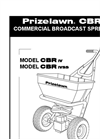 CBR IV SS - Commercial Spreaders Manual