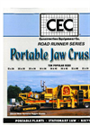 CEC - Model 24 x 36 - Portable Jaw Crusher Brochure